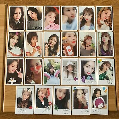 Kpop Twice Official Twicetagram Photocard UK Seller *Select Cards*   • 5.95£