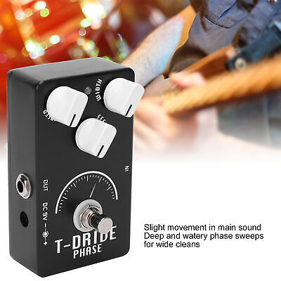 $ CDN55.75 • Buy Guitar Phaser Pedal Kit Electric Analog Phase Shifter Effect Instrument Parts