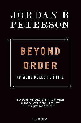 AU20.91 • Buy Beyond Order: 12 More Rules For Life By Jordan B Peterson
