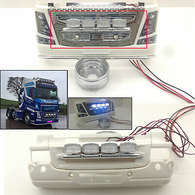 £26.57 • Buy Front LED Lamp Lights For TAMIYA SCANIA R620 56323 1/14 RC Truck Upgrade Part