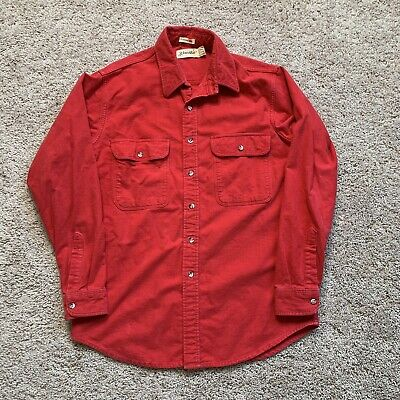 $22 • Buy Vintage Made In USA Chamois Cloth Shirt Size Large