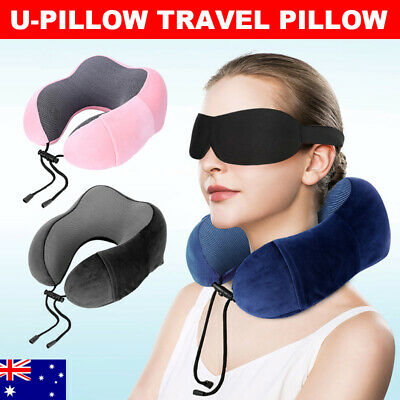 AU17.95 • Buy Neck Travel Pillow Home U Shaped Foot Rest Cushion Sleeping Pad Memory Foam New