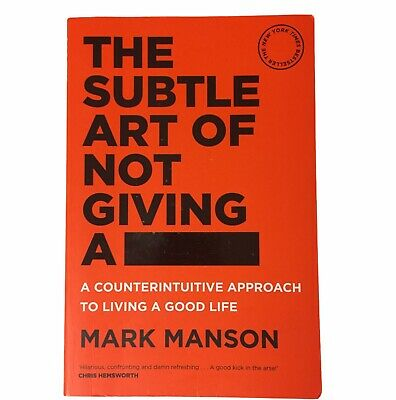 AU19.99 • Buy The Subtle Art Of Not Giving A F*ck By Mark Manson PB 2018 Self Help