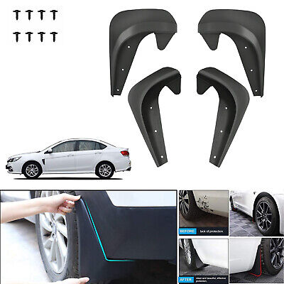 $21.36 • Buy 4X Universal Car Mudguards Fender Front / Rear For Most Vehicles Car Auto Parts
