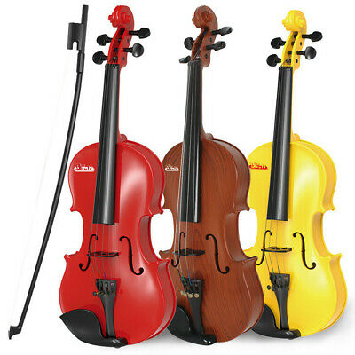AU45.21 • Buy Beginner Classical Violin Guitar Educational Musical Instrument Toy For Kids