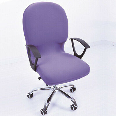 AU11.28 • Buy Swivel Chair Cover Stretchable Removable Office  Rotating Lift Wrinkle Resistant