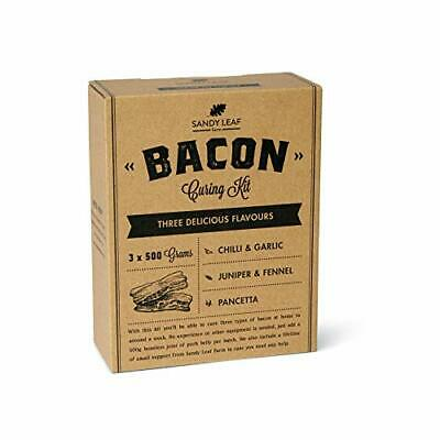 £19.99 • Buy Bacon Curing Starter Kit, 3 X 500g Delicious Flavours, Instructions, Gluten Free