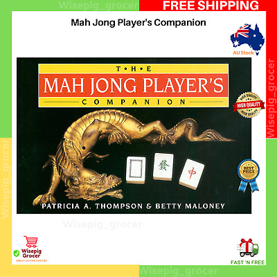 AU19.99 • Buy The Mah Jong Player's Companion By Patricia A.Thompson | Paperback Book | NEW AU