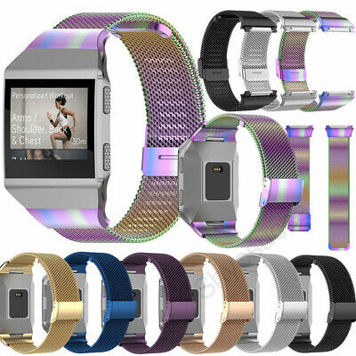 AU14.89 • Buy For Fitbit Charge Ionic Strap Milanese Stainless Steel Wrist Band Bracelet New