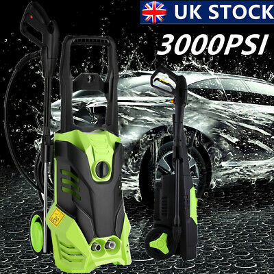 £129.89 • Buy 3000PSI/150 BAR Electric Pressure Washer Water High Power Jet Wash Patio Car New
