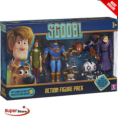 £12.99 • Buy Scooby Doo Action Figures Kids Fun Play Toys Holiday Christmas Gift Multi Pack