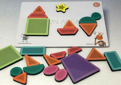 AU84.03 • Buy Magnetic Shapes Puzzles Imaginative Fun & Play Toys For Kids Boys & Girls