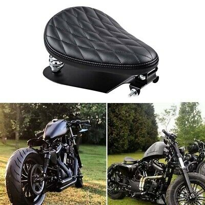 $62.99 • Buy For Harley-Davidson Sportster Iron XL883 1200 Bobber Motorcycle Spring Solo Seat