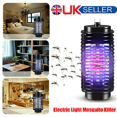 £6.99 • Buy Electric Insect Mosquito Fly Killer Bug Zapper UV Indoor Pest Catcher Trap Lamp