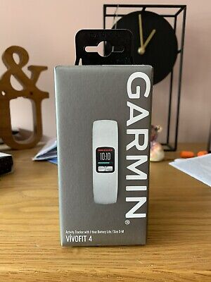 View Details Garmin Vivofit 4 Activity Tracker Size S-M • 55.00£