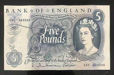 Old Five £5 Pound Note Excellent Condition • 35£