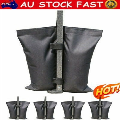 AU35.39 • Buy 4PC Garden Gazebo Foot Leg Feet Weights Sand Bag For Marquee Party Tent AU