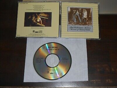 RICK WAKEMAN The Six Wives Of Henry VIII CD Japan 6 Tracks A&M D32Y3115 • 7.27£