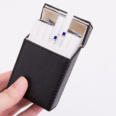 PU Leather Cigarette Case Tobacco Storage Box Holder Cigar Protective Cover TR*. • 7.49£