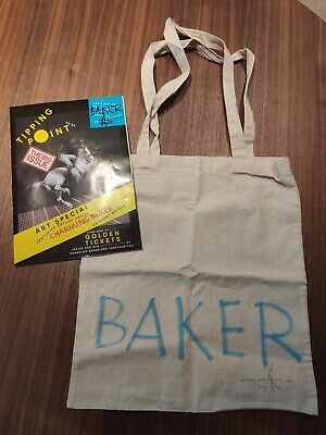 £21 • Buy Charming Baker - Signed Big Issue Magazine And Tote Bag - Art Car Boot Fair