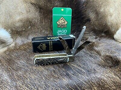 AU505.11 • Buy 2020 Puma 21  0311 Jagdmesser Stag Knife From Solingen, Germany  - Mint In Box