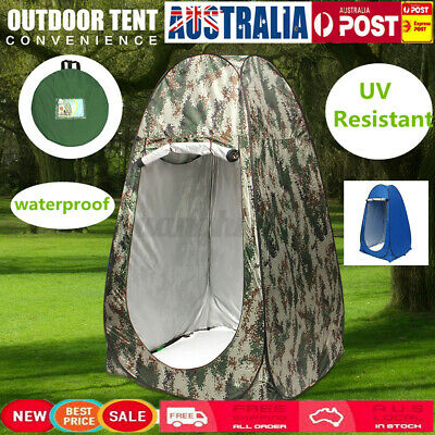 AU32.99 • Buy Pop Up Outdoor Camping Shower Tent Toilet Plus Portable Change Room Shelter  ┤