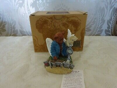 £9.99 • Buy Teddy Angels Figurine Boxed Old Bear & Little Bit The Well Watered Garden 9cm Ta