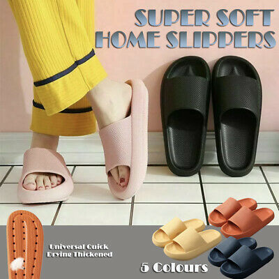 AU16.95 • Buy PILLOW SLIDES Sandals Ultra-Soft Slippers Extra Soft Cloud Shoes Anti-Slip
