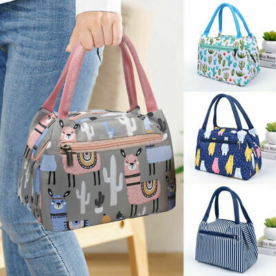 AU12.85 • Buy Lunch Bag For Women Thermal Insulated Lunch Food Tote Purse Work Office Picnic
