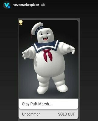 $350 • Buy VEVE Ghostbusters FA Stay Puft Marshmallow Man NFT (SOLD OUT) READ DESCRIPTION
