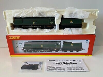 Hornby R2542 OO Gauge BR 4-6-2 WEST COUNTRY CLASS 34092 CITY OF WELLS -Preserved • 259.50£