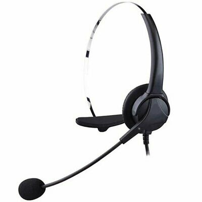 £15.49 • Buy USB Computer Headset Wired Headphones With Microphone For PC Laptop Call Center