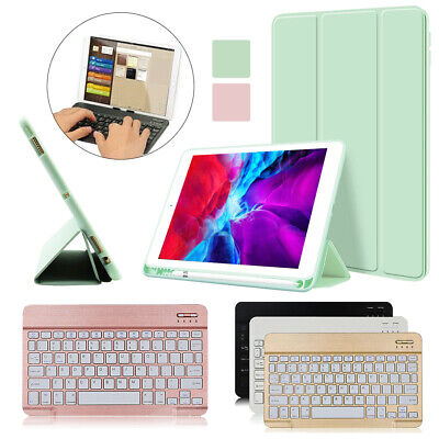 £17.49 • Buy Smart Leather Case Cover + Wireless Keyboard For Apple IPad Air 4 10.9 Inch 2020