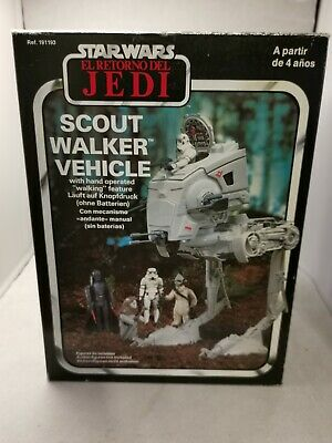 $ CDN267.16 • Buy New Vintage Star Wars Palitoy ROTJ At-St Scout Walker Boxed Complete