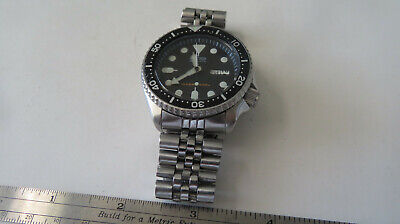 $ CDN123.02 • Buy Watch Seiko  Automatic Scuba  Diver's 200m Stainless   Japan Move  9n2834  Parts