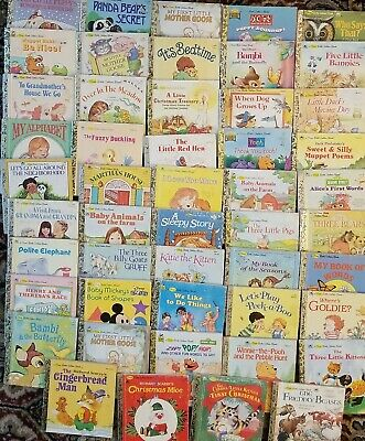 £28.39 • Buy  FIRST LITTLE GOLDEN BOOK Mini Vintage Books, Lot Of 49