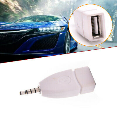 $1.69 • Buy Car Parts AUX Audio 3.5mm Male Plug To USB 2.0 Female Converter Adapter Jack
