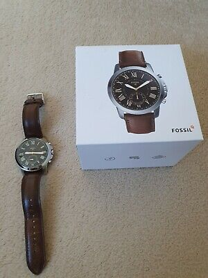 View Details Fossil Q Grant Hybrid Smart Watch Boxed Excellent Condition • 59.99£