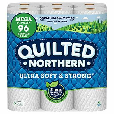 $ CDN63.17 • Buy Quilted Northern Ultra Soft And Strong Earth-Friendly Toilet Paper, 24 Mega