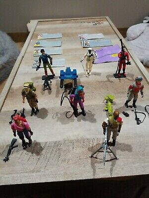 $ CDN29.50 • Buy Vintage GI Joe Lot 8 Figures Accessories And File Cards ARAH 80s And 90s