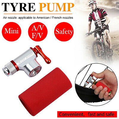 £10.89 • Buy Mini Bike CO2 Pump Cycle Tyre Tube Inflator Presta Schrader Tire Gas Cylinders