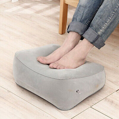 AU14.48 • Buy Footrest Pad Stool Pillow Air Travel Home Relax Inflatable Footrest Portable AU