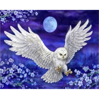 AU14.99 • Buy Full 5D Drill DIY Diamond Painting Embroidery Cross-Stitch Kit Owl Decoration