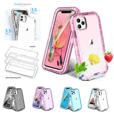 AU19.99 • Buy Heavy Duty Hybrid Defender Cover Case For IPhone 12 11 Pro Max Mini 7 8+ X/XS XR
