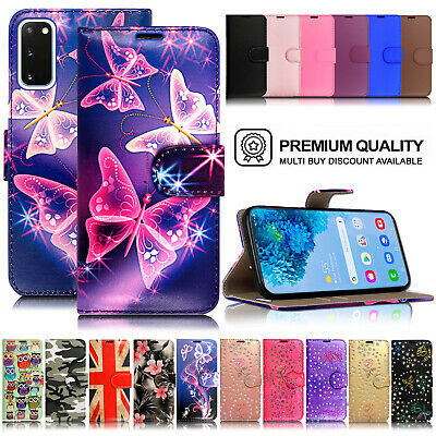 £2.95 • Buy For Samsung Galaxy S6 S7 S8 S9 S10 Plus S20 Ultra Wallet Flip Case Stand Cover