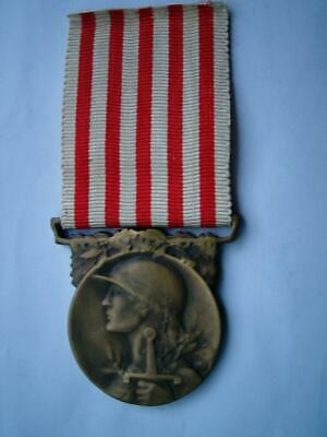 £19.99 • Buy Bronze Great War WWI French Medal Military 1914 1918 Republic France 2A