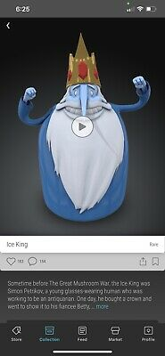 $234.99 • Buy (Sold Out) VEVE NFT Digital Collectible Ice King Adventure Time Rare