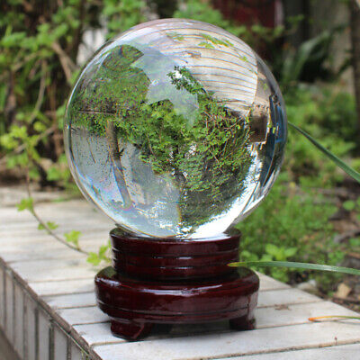 £11.99 • Buy 100mm Clear Crystal Ball K9 Glass Lens Sphere Photography Props & Decoration UK