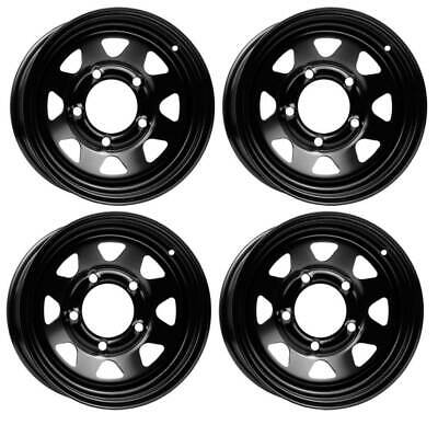 AU768.60 • Buy 4 Dotz Dakar Dark Wheels 7.0Jx15 5x139,7 For Suzuki Grand Vitara Jimny Samurai V
