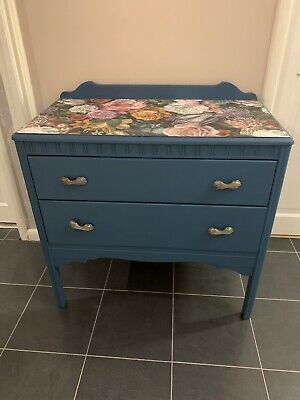 Vintage Lebus Upcycled Chest Of Drawers  • 50£